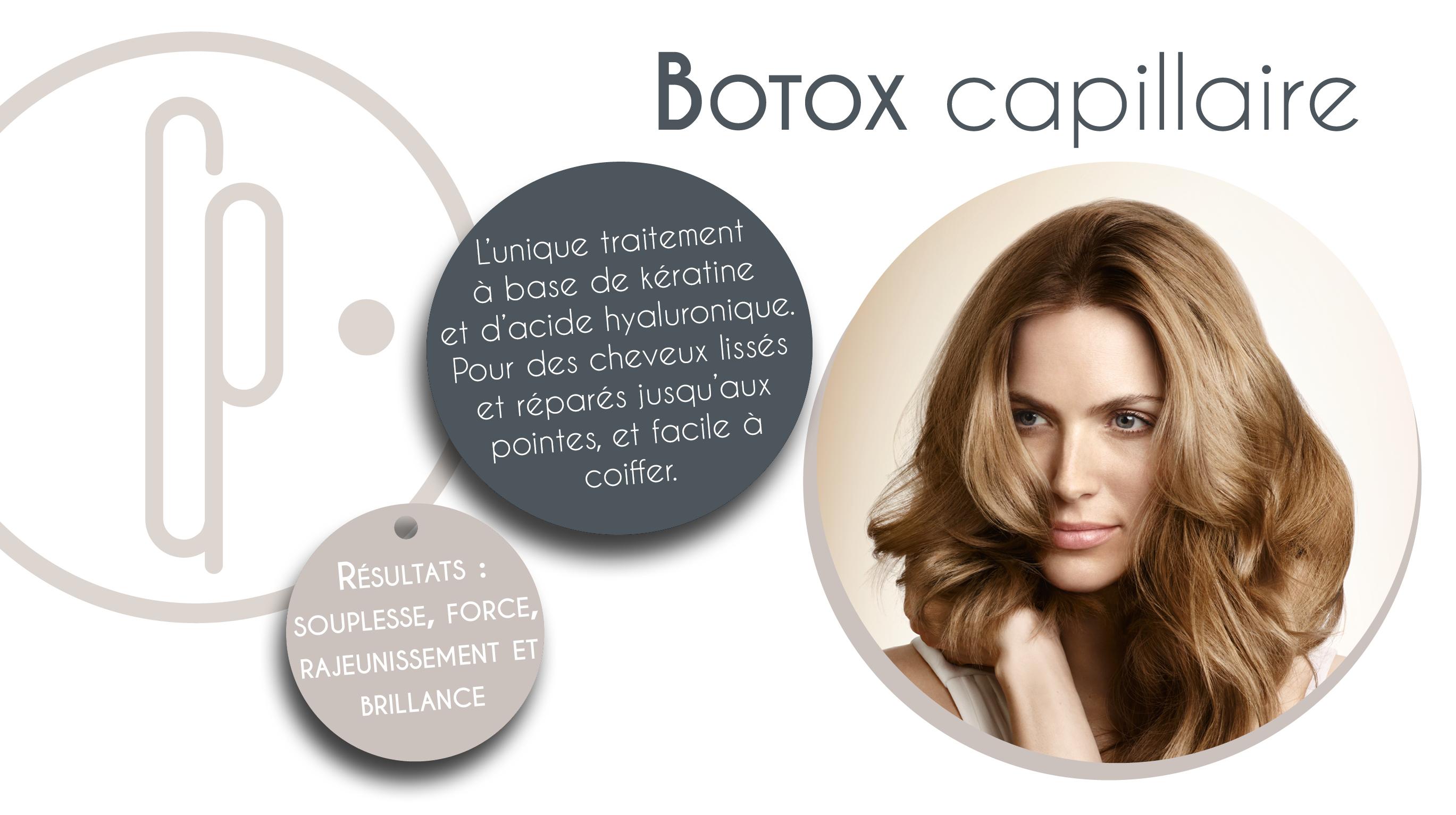 Les points forts du botox capillaire