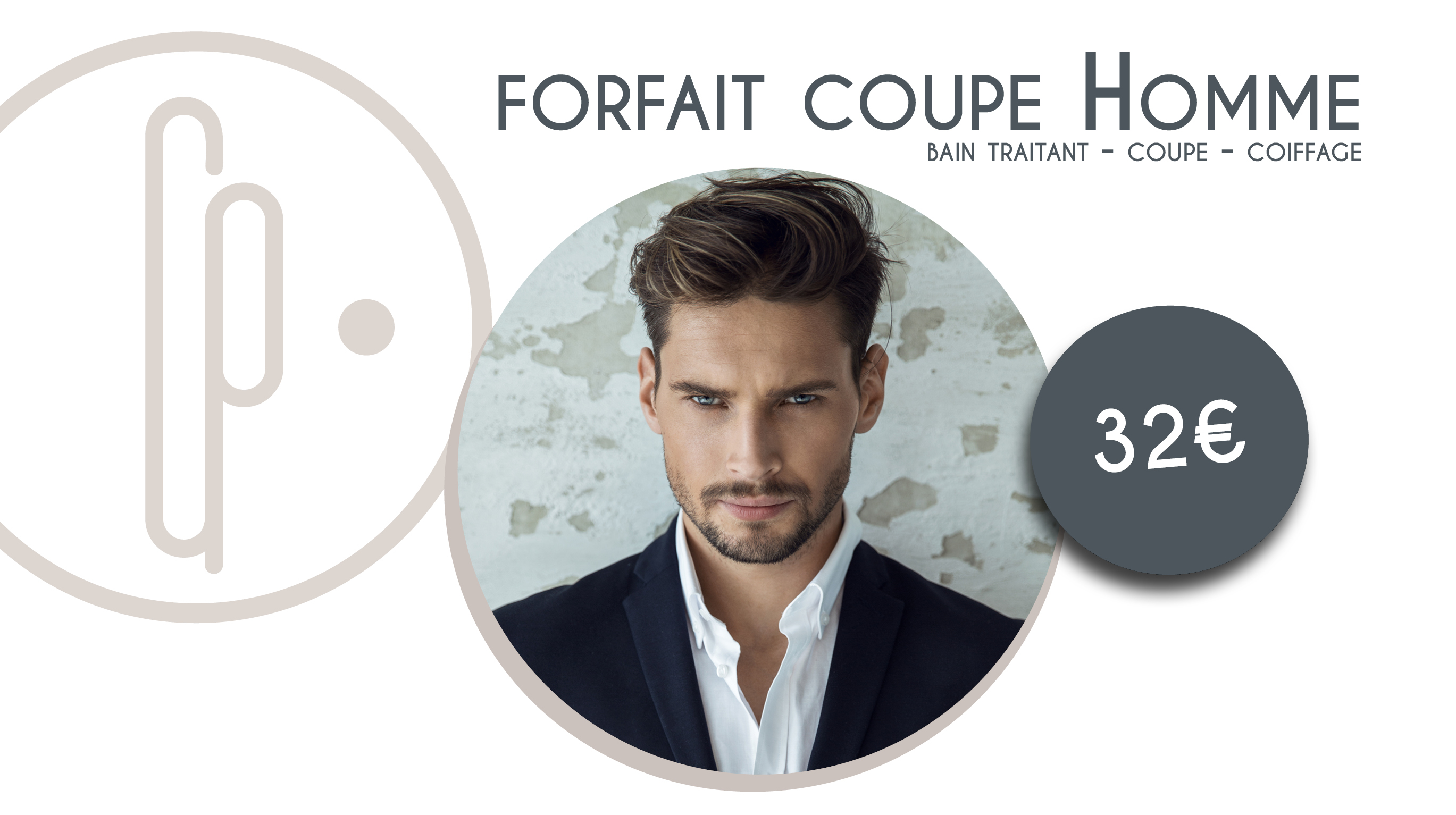 Forfait Coupe Homme